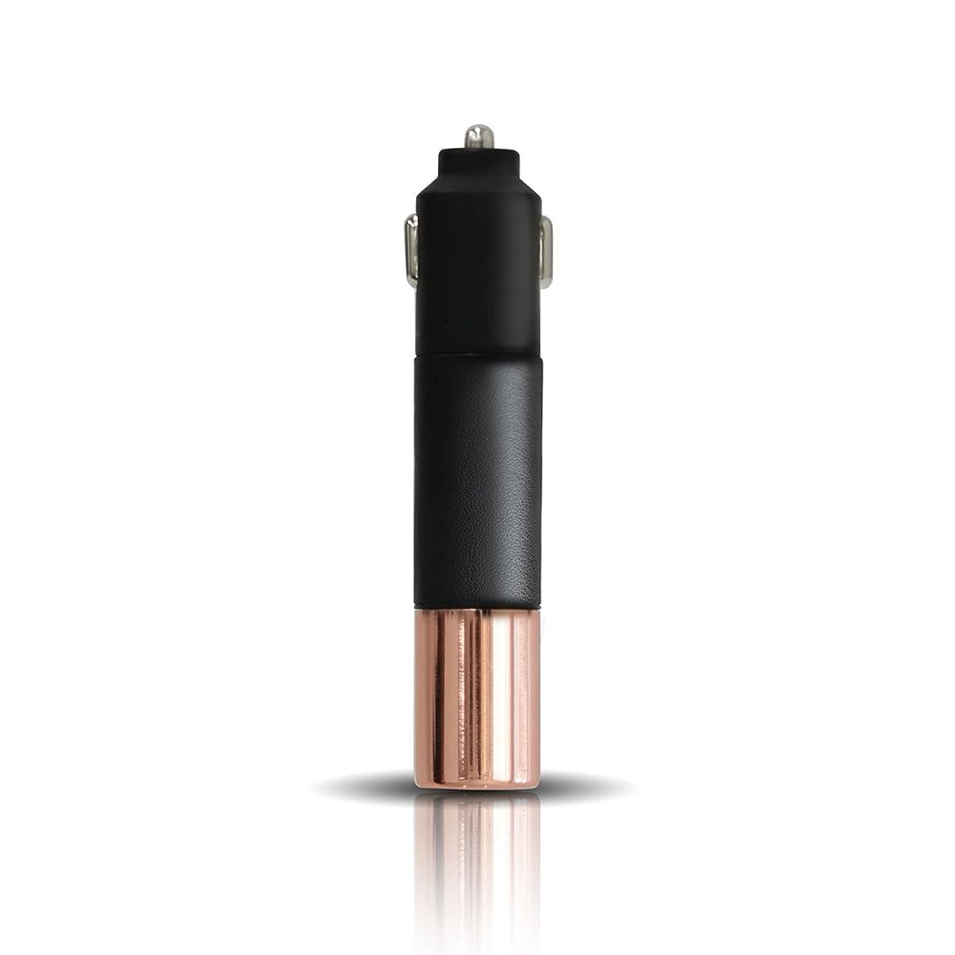 ホーン値下げ月PRISMATE(プリズメイト) Driving Aroma Diffuser Leather and Metal PR-AD02C (BK(ブラック))