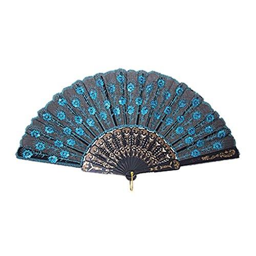 sequin hand fans bulk - 7