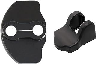 Carwiner Tesla Model 3 Door Lock Protector Cover Door Stopper Cover Latches Cover for Model 3 Accessories (Set of 6)