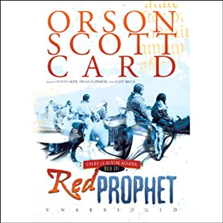 Red Prophet audiobook cover art