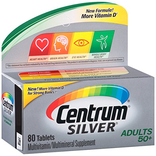 Centrum Silver Adult (80 Count) Mul…