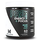MDRN Athlete PreWRKT | Keto Friendly Pre-Workout | Enhanced Energy | Focus | Strength | Endurance |...