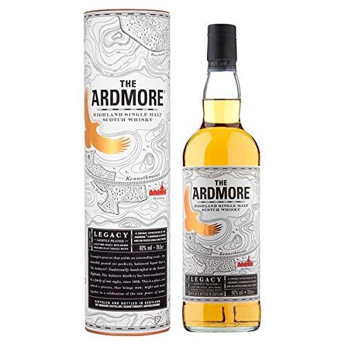 Das Ardmore Highland Single Malt Scotch Whisky 700ml Pack (70cl)