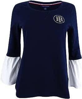 Women's Bell-Sleeve Embellished Sweatshirt