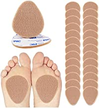 Felt Metatarsal Pads - 12 Pairs (24 Pieces) , Ball of Foot Cushions for Forefoot and Sole Support, Foot Pain Relief, Orthotics for Women and Men, Metatarsalgia Mortons Neuroma (1/4