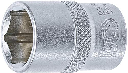 BGS 2918   Steckschlüssel-Einsatz Sechskant   12,5 mm (1/2