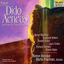 Purcell - Dido and Aeneas and Music for Plays & Masques / Maultsby · S. Waters · O'Keefe · S. Baker · L. Tucker · Ames · Clement · Braun · Boston Baroque · Pearlman