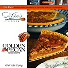 Golden Pecan Pie - 4th Generation Family Owned Business - Shipped Frozen - Fully Baked - Serves 8