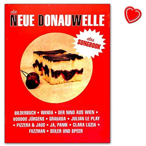 Die Neue DonauWelle - Das Songbook - Verlag Bosworth - BOE7896 - 9783865439918 mit bunter herzförmiger Notenklammer