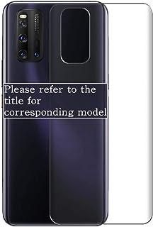Vaxson 2 stycken skyddande baksida, kompatibel med Alcatel OneTouch Flash 2, Backcover Skin TPU film hud [ej pansarglas di...