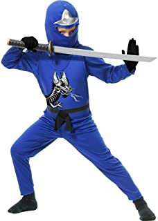 Charades Ninja Avenger Series II Child's Costume, Toddler Blue