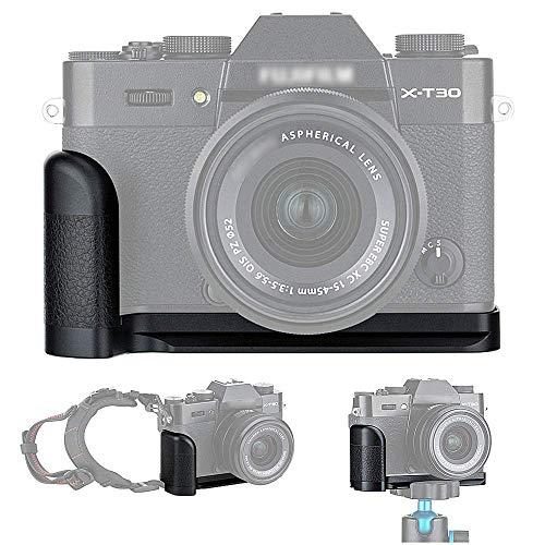 JJC Grip Metallo Impugnatura per Fujifilm Fuji X-T30 X-T20 X-T10 sostituisce Fujifilm MHG-XT10 Hand Grip