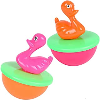 The Dreidel Company Pond Rubber Duck, Toy Assortment Duckies for Kids, Stress Reliever Toy for Kids, Bath Ducky, Birthday...