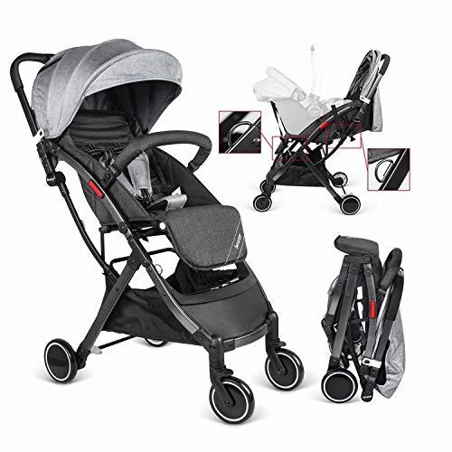 Besrey Silla de paseo Ligera bebe, carrito bebe ligero coche