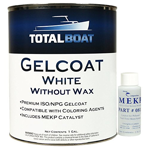 TotalBoat Gelcoat (White, Gallon with Wax)