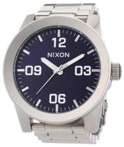 Nixon Reloj Analógico para Hombre de Cuarzo con Correa en Acero Inoxidable A346-1258-00