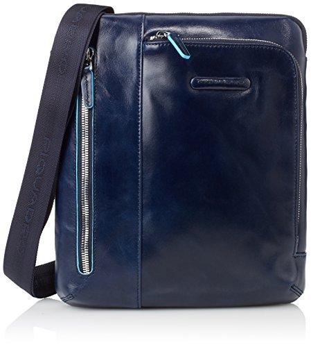 Piquadro CA1816B2 Borsello, Collezione Blu Square, Blu