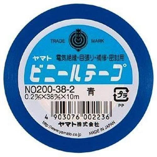 ヤマトビニールテープ (巾38mm)【青】 NO200-382