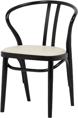 秋田木工 椅子 幅55.6×奥行46.5×高さ75cm DB 曲木椅子 日本製 NO.503―OU DB
