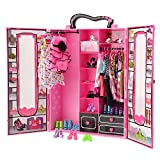 BARWA Fashion Closet Wardrobe 42 Pcs Doll Clothes Sets for 11.5 inch Doll with 5 Pack Dresses Clothes 37 Pcs...