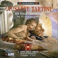 タルティーニ:ヴァイオリン協奏曲集 15 (グリエルモ/ラツァリ/ラルテ・デラルコ)