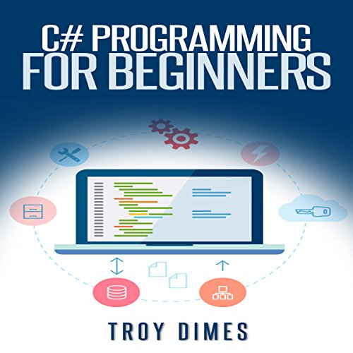 C# Programming for Beginners audiobook cover art