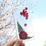 Fait à la main Coque pour iPhone 6 iPhone 6S Véritable Fleur iPhone 6 Case Pressed Flower iPhone...