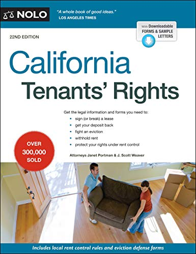 Compare Textbook Prices for California Tenants' Rights Twenty second Edition ISBN 9781413327502 by Portman Attorney, Janet,Weaver Attorney, J. Scott