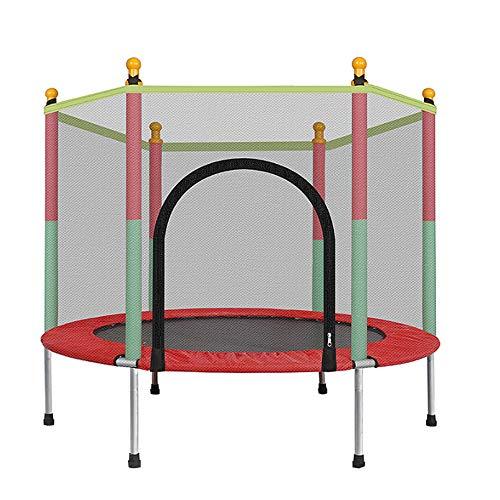 K-DD Trampolino Fitness, Trampolino da Giardino, Trampolino All'aperto Tondo per Bambini, Tappeto Elastico di Sicurezza per L'intrattenimento nella Scuola di Famiglia