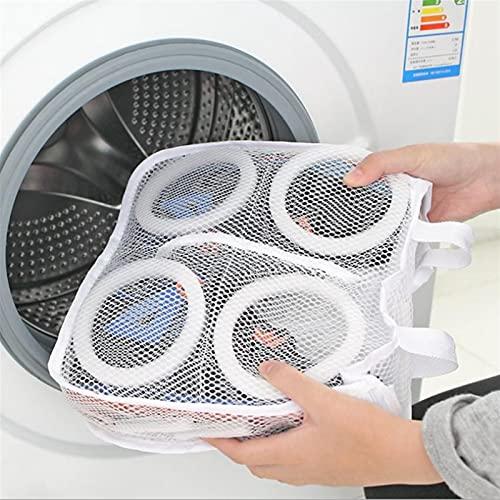 YSTSPYH Bolsa de lavanderia Lavadora Zapatillas Bolsa Ropa de Viaje Bolsa de Almacenamiento Portátil Lavandería Ropa Interior SOHGE Bra PROTECCIÓN Net Mesh