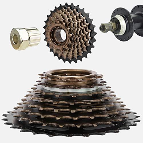 nologo Cassetta pignoni 8 Ruote Freewhee Cassette Ruote libere per Mountain Bike Bici da Strada per Mountain Bike