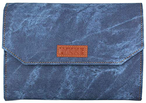 Lykke Indigo Driftwood Interchangeable Gift Set in Indigo Denim Pouch
