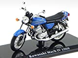 Atlas Kawasaki Mach IV 1969 Classic Superbike Motorrad Modell 111 1:24
