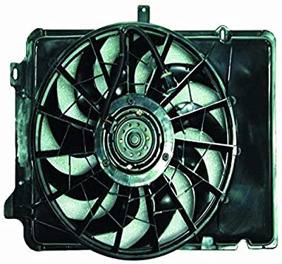 DEPO 330-55001-000 Replacement Engine Cooling Fan Assembly (This product is an aftermarket product. It is not created or sold by the OE car company)
