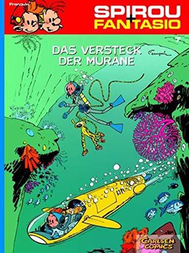 Spirou und Fantasio 7: Das Versteck der Muräne: Spannende Abenteuer für Mädchen und Jungen ab 8 (7)