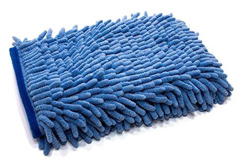 [Zero Cuff] Microfiber Wash Mitt (7 in. x 9 in.) 1pack (Blue)