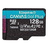 キングストン microSD 128GB 170MB/s UHS-I U3 V30 A2 Nintendo Switch動作確認済 Canvas Go! Plus SDCG3/128GB 永久保証