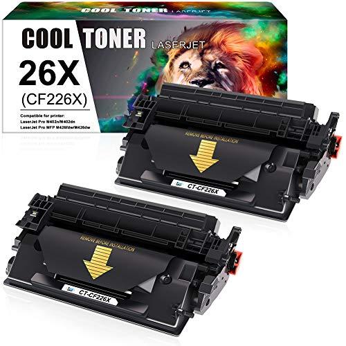 Cool Toner Kompatibel Tonerkartusche Replacement für CF226X CF226A 26A 26X Toner für HP Laserjet Pro MFP M426FDW M426FDN M426DW M402DN M402D M402N M402dw Laserdrucker