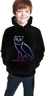 Dra-ke O-V-O OWL Fashion Teen Youth Hoodies 3D Print Hooded Pullover Sweatshirts Hoody for Boys Girls