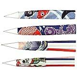 PRETYZOOM 4 Unids Carpa Japonesa Manga de Viento Bandera de Pez Cometa Koinobori...