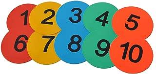 Eco Walker 8inch Numbered Floor Spot Markers
