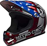 BELL Sanction Casco Integral MTB, Unisex Adulto, Nitro Circus Gloss Cover Case Negro, Small/52-54 cm