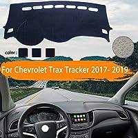 OZLXKNC 車のダッシュボードカバーダッシュマット車のサンシェードダッシュボードパッドカーペット、シボレートラックストラッカーホールデン2017 2018 2019