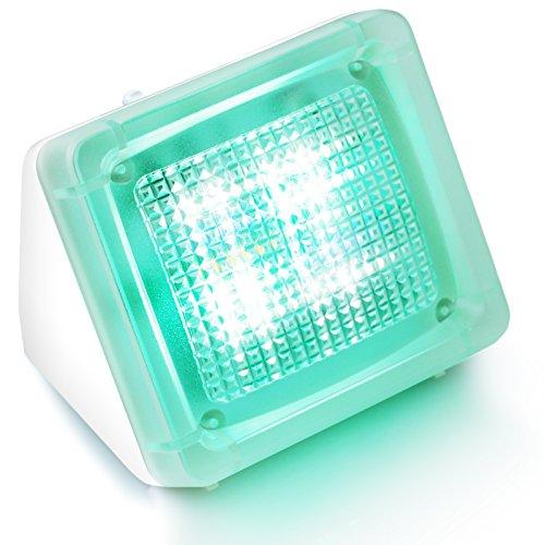 CSL - LED Fake TV Simulator Fernseh-Attrappe Einbruchschutz Home Security - 20 farbige LEDs -3 Programme - Lichtsensor und Timer