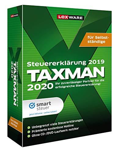 Lexware Taxman 2020 für das Steuerjahr 2019 Minibox Steuererklärungs-Software für Selbstständige
