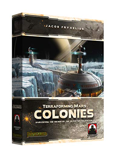 Stronghold Games STG07203 Terraforming Mars: The Colonies, Mehrfarbig