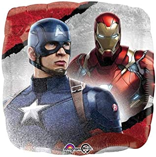 Anagram 32440 Captain America: Civil War Foil Balloon, 18