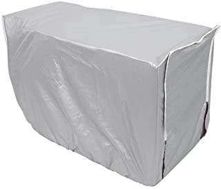 Funda para Aire Acondicionado, unidad de ventana de inicio de cubierta protectora impermeable del acondicionador de aire exterior a prueba de polvo impermeable(3p)