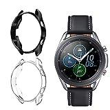 Dilhvy Schutzhülle Kompatibel mit Samsung Galaxy Watch3