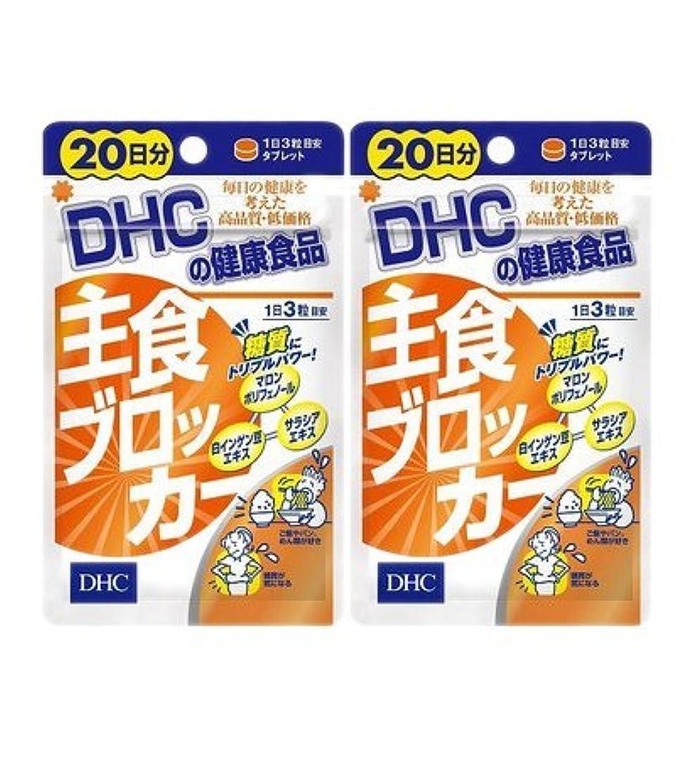 エール第三シェルター【2個セット】DHC 主食ブロッカー 20日分 60粒入